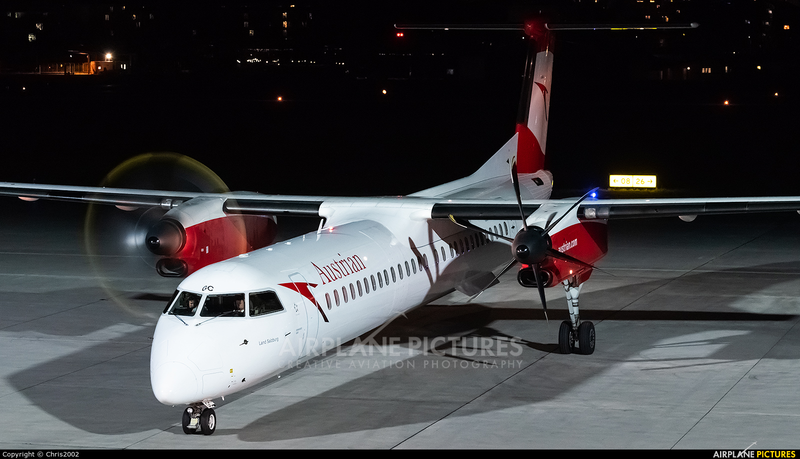 Austrian Airlines/Arrows/Tyrolean OE-LGC aircraft at Innsbruck