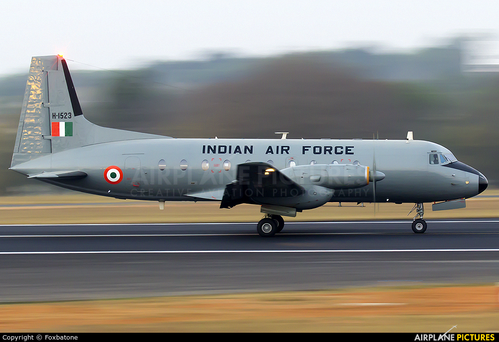 India - Air Force H-1523 aircraft at Yelahanka AFB