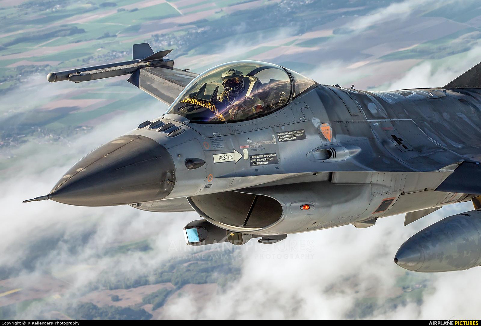 Belgium - Air Force FA-116 aircraft at In Flight - Belgium