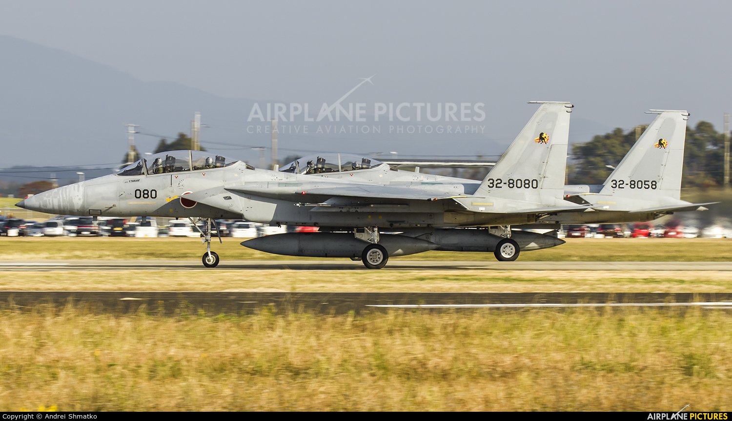 Japan - Air Self Defence Force 32-8080 aircraft at Nyutabaru AB