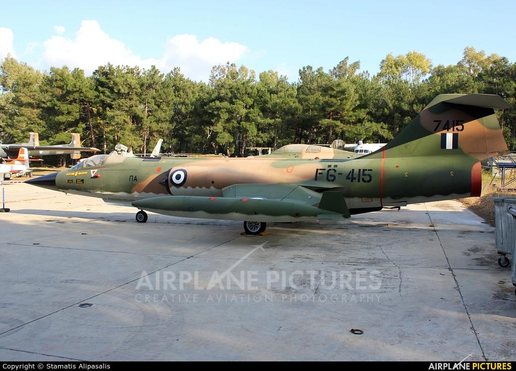 Greece - Hellenic Air Force 7415 aircraft at Tatoi