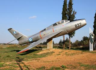52-6837 - Greece - Hellenic Air Force Republic F-84F Thunderstreak