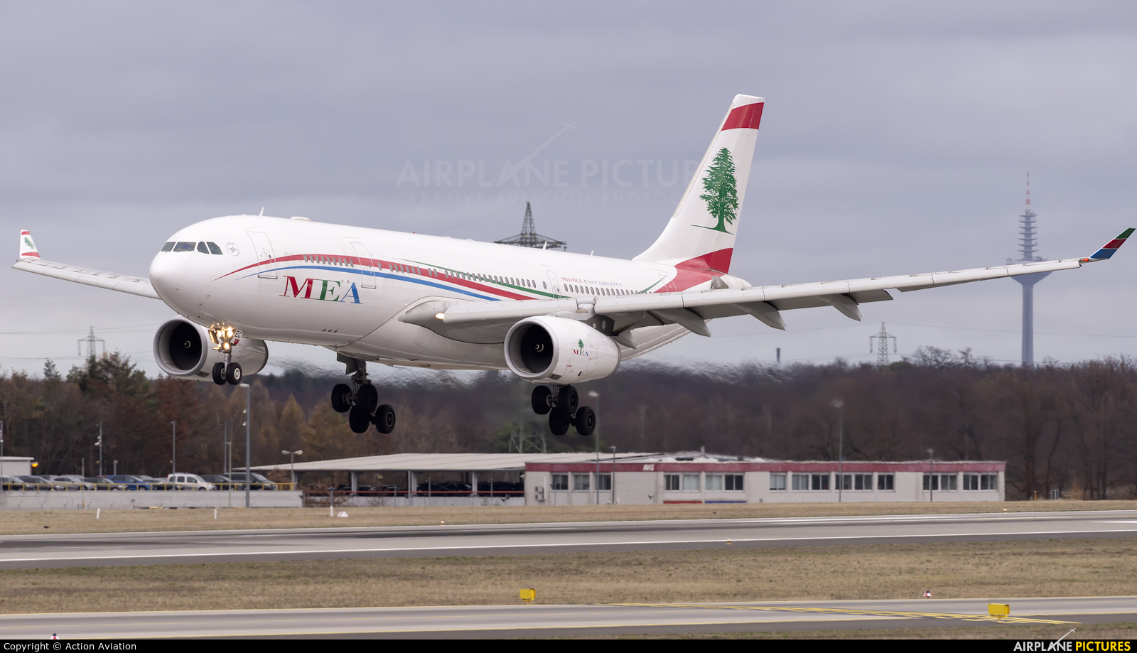 MEA - Middle East Airlines OD-MEC aircraft at Frankfurt