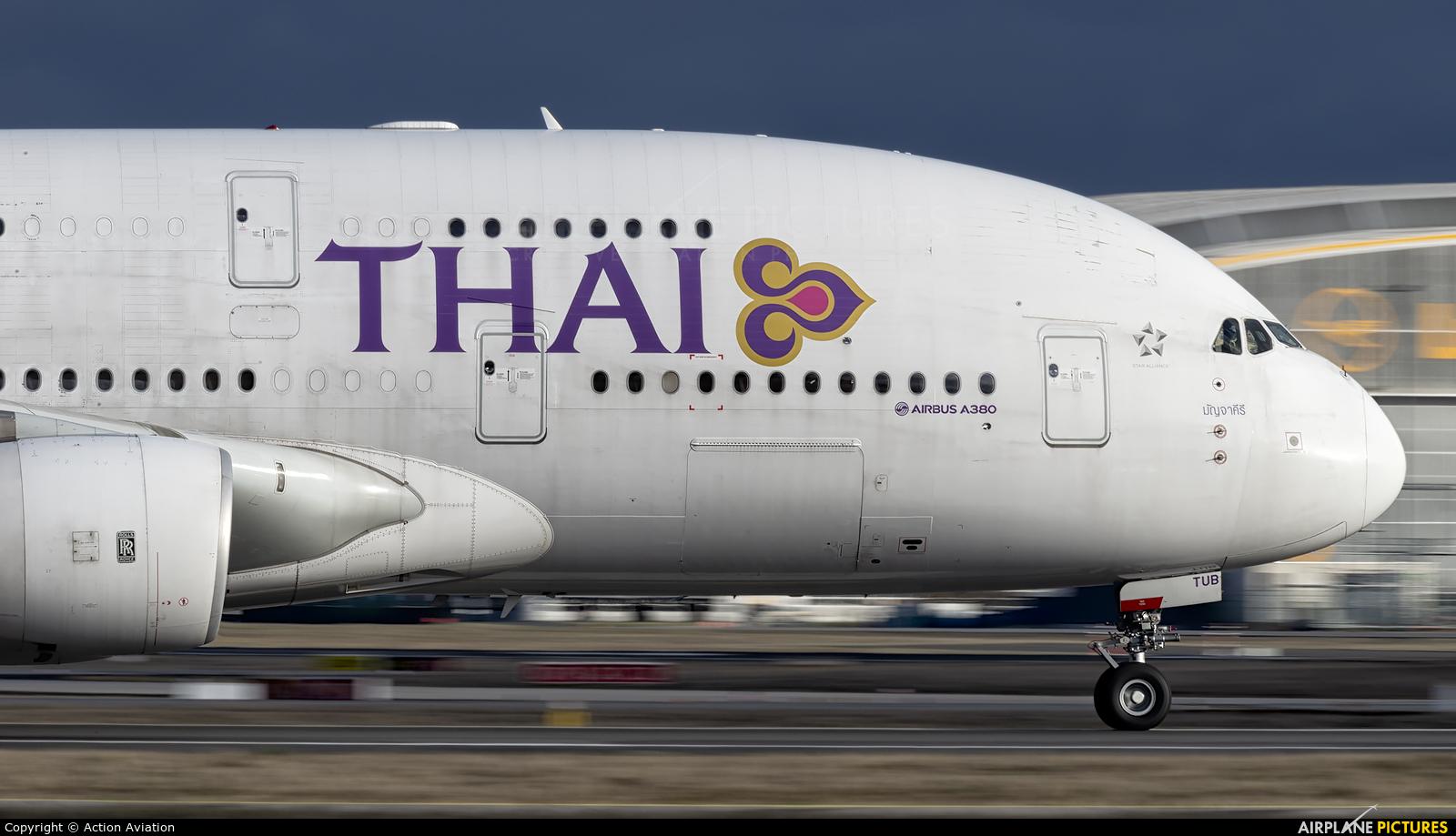 Thai Airways HS-TUB aircraft at Frankfurt