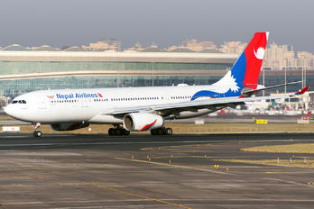 9N-ALZ - Nepal Airlines Airbus A330-200
