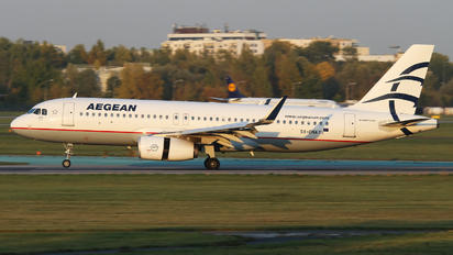 SX-DNA - Aegean Airlines Airbus A320