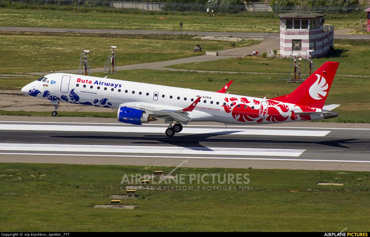 Azerbaijan Airlines 4K-AZ64 aircraft at Moscow - Vnukovo