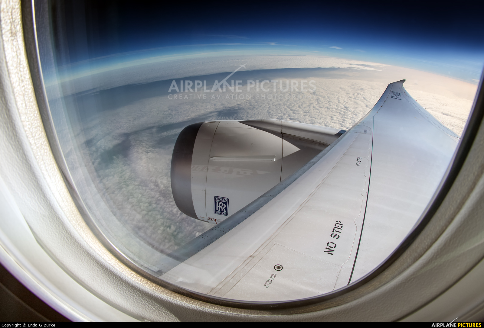 Ethiopian Airlines ET-AUO aircraft at In Flight - England