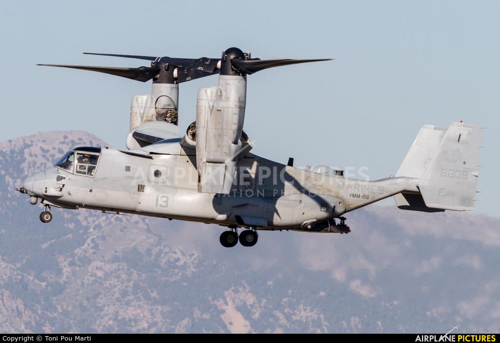 USA - Marine Corps 168609 aircraft at Palma de Mallorca