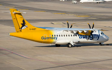 G-HUET - Aurigny Air Services ATR 42 (all models)