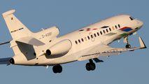 D-AGBF - Volkswagen Air Services Dassault Falcon 7X aircraft