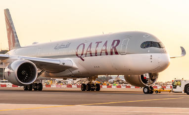 A7-AMG - Qatar Airways Airbus A350-900