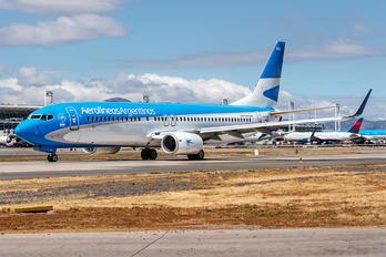 LV-FWS - Aerolineas Argentinas Boeing 737-800