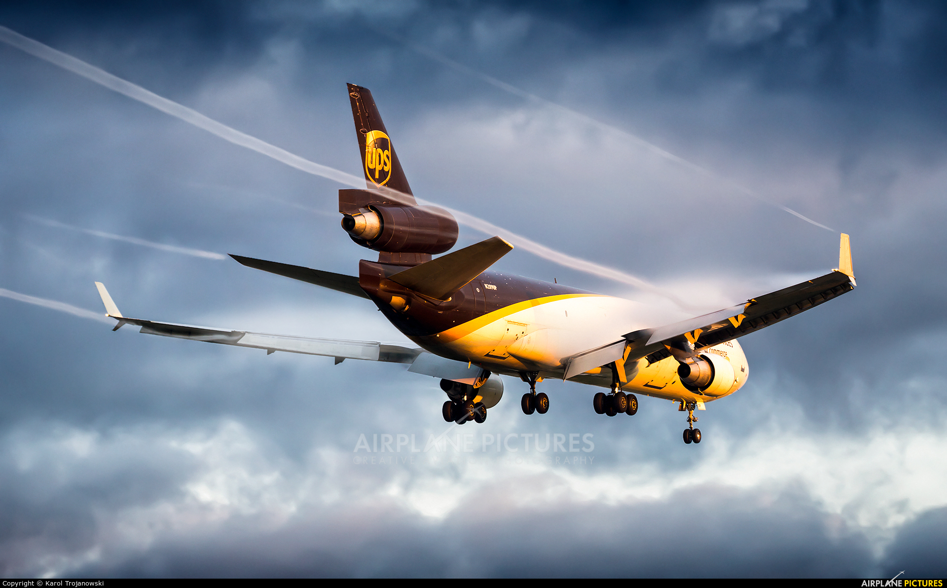 UPS - United Parcel Service N289UP aircraft at Warsaw - Frederic Chopin