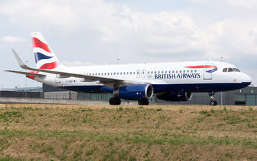 G-EUYW - British Airways Airbus A320