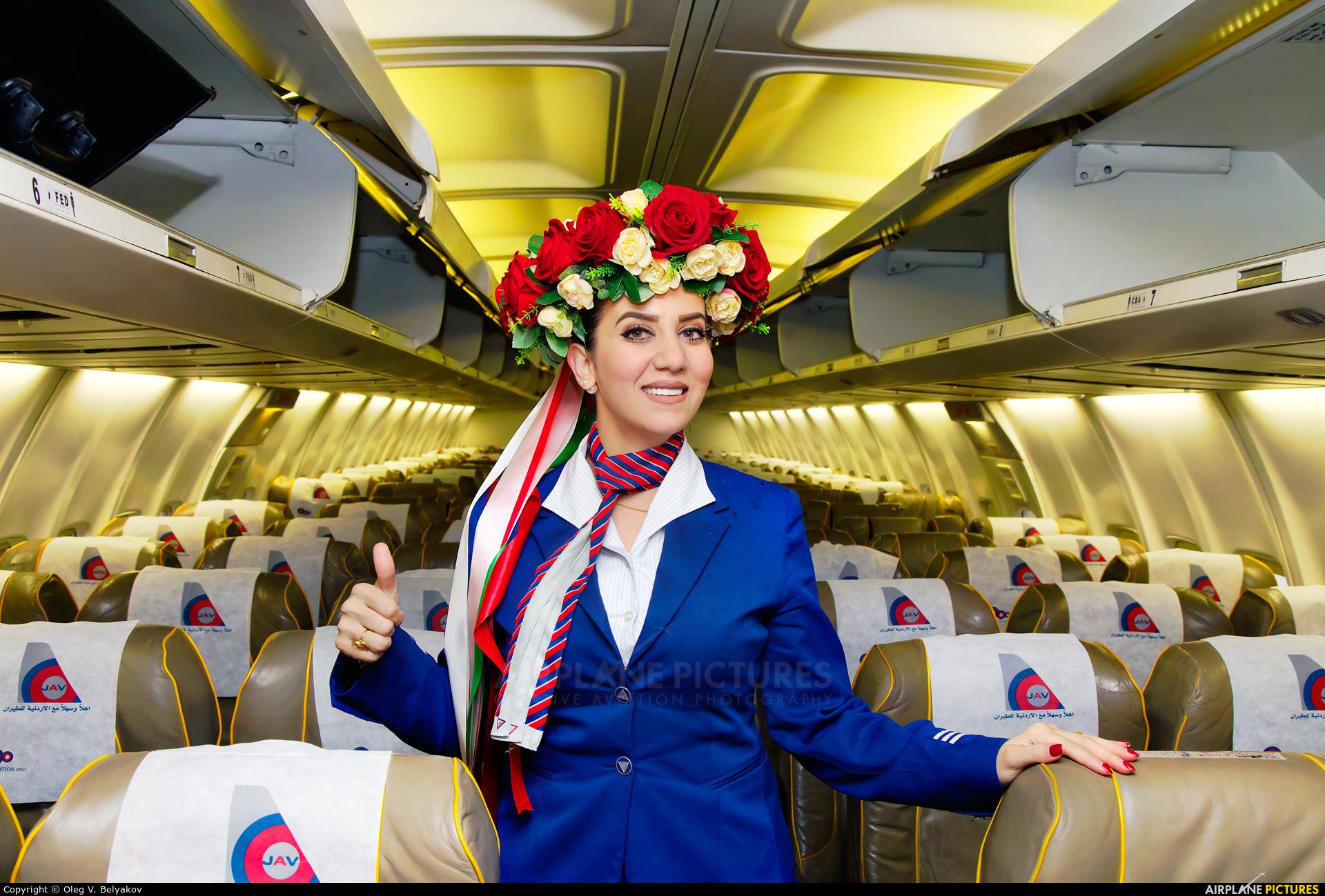 Jordan Aviation JY-JAY aircraft at Kyiv - Zhulyany