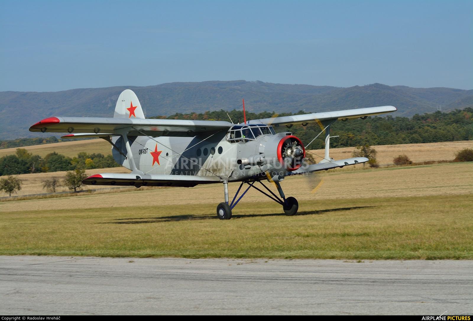 Aeroklub Kosice OM-RST aircraft at Bidovce