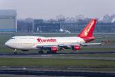 #2 Corendon Dutch Airlines Boeing 747-400 PH-BFB taken by Maarten-sr