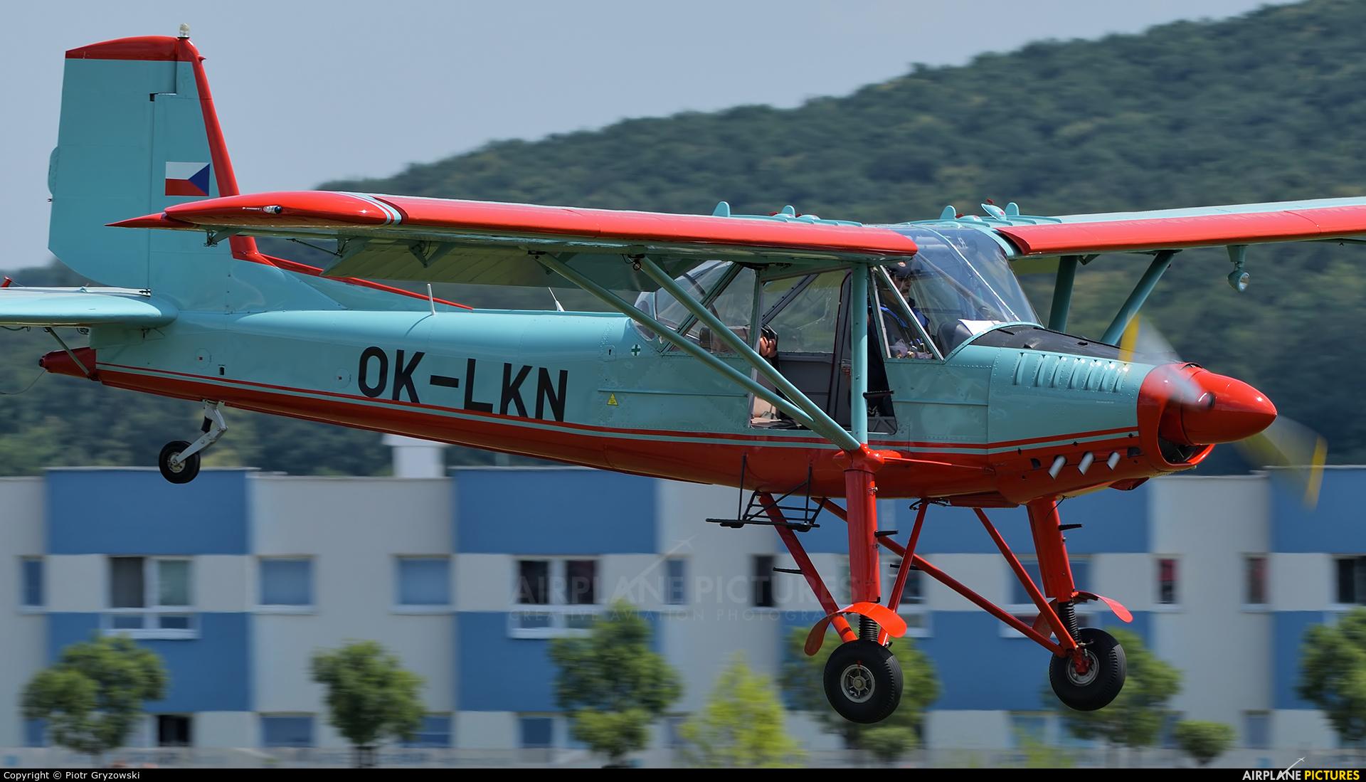 Private OK-LKN aircraft at Mladá Boleslav