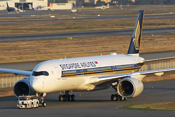 F-WZFZ - Singapore Airlines Airbus A350-900