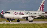 A7-AHP - Qatar Airways Airbus A320 aircraft