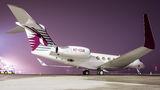 Qatar Executive Gulfstream at Katowice