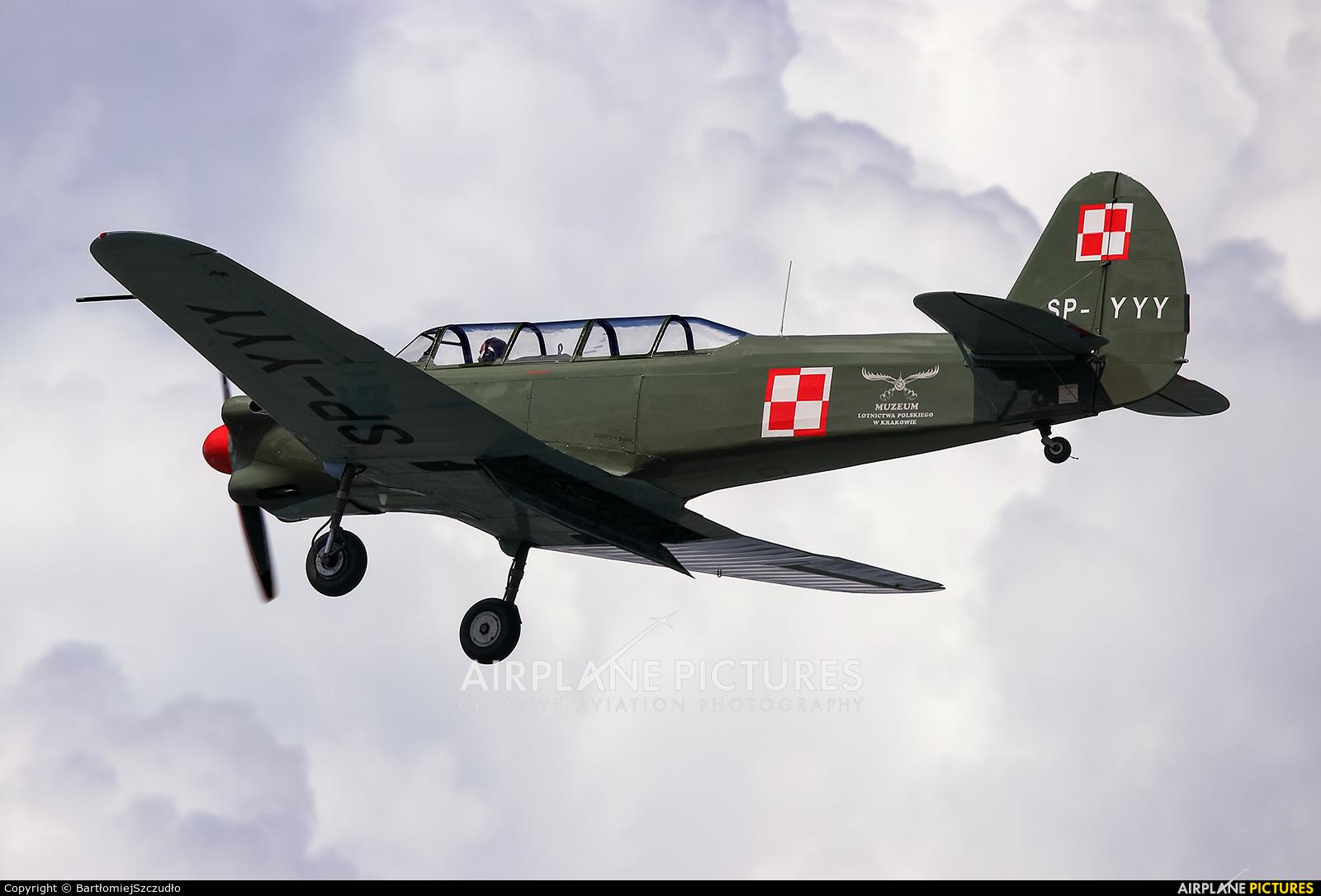 Museum of Polish Aviation SP-YYY aircraft at Mielec