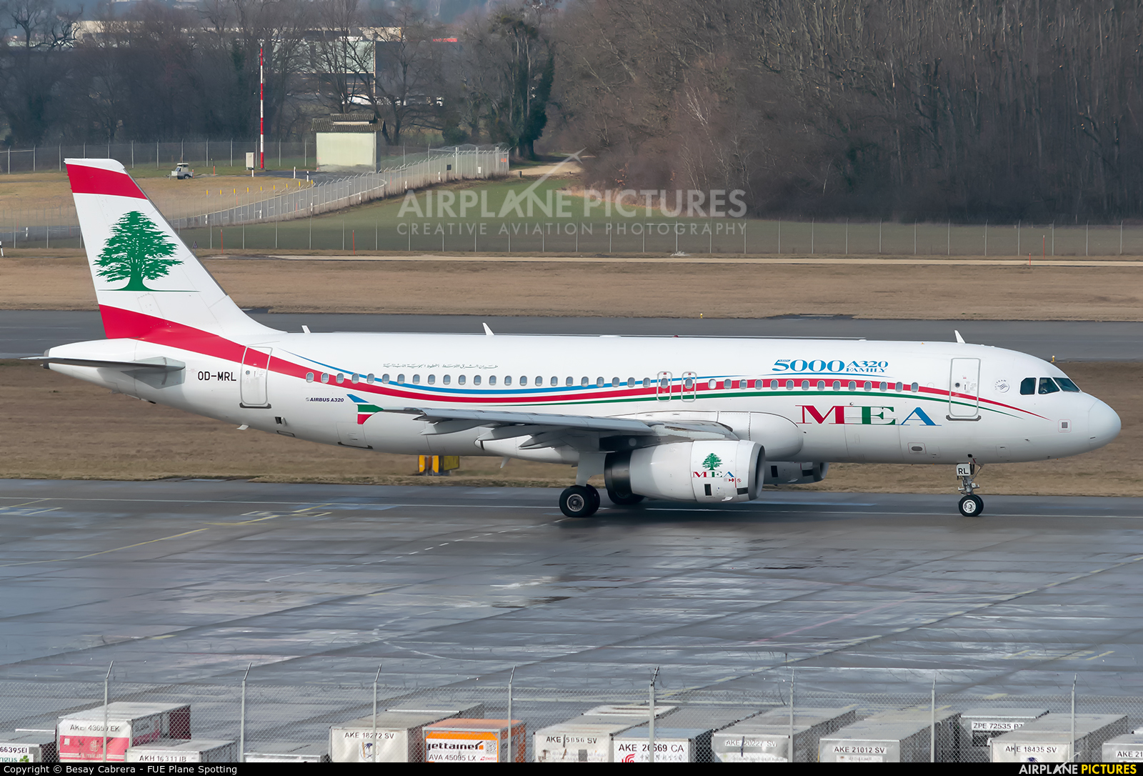 MEA - Middle East Airlines OD-MRL aircraft at Geneva Intl