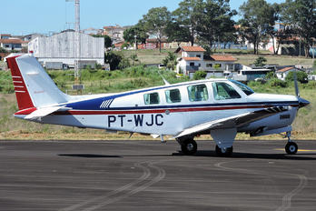 PT-WJC - Private Beechcraft 36 Bonanza