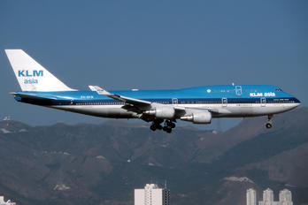 KLM Asia - Boeing 747-400 PH-BFD