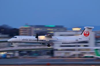 JA846C - JAL-  Japan Air Commuter de Havilland Canada DHC-8-400Q / Bombardier Q400