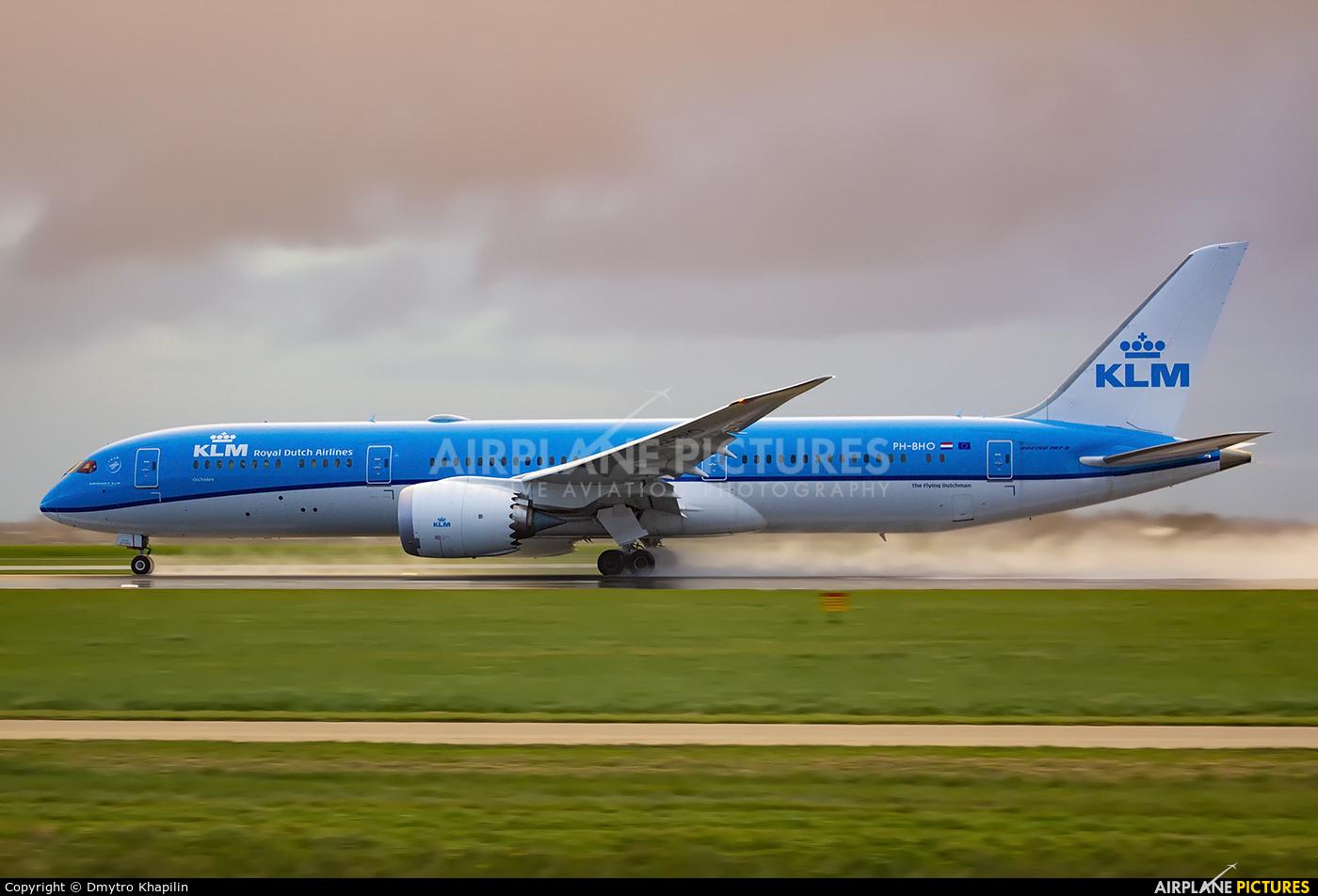 KLM PH-BHO aircraft at Amsterdam - Schiphol