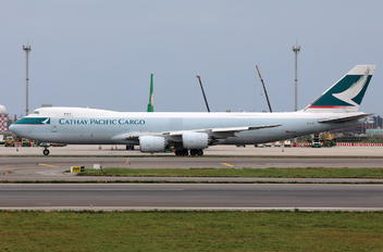 B-LJE - Cathay Pacific Cargo Boeing 747-8F