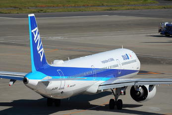 JA135A - ANA - All Nippon Airways Airbus A321 NEO