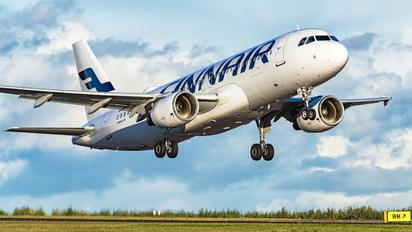 OH-LXH - Finnair Airbus A320