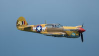 #2 The Fighter Collection Curtiss P-40F Warhawk G-CGZP taken by Roman N.