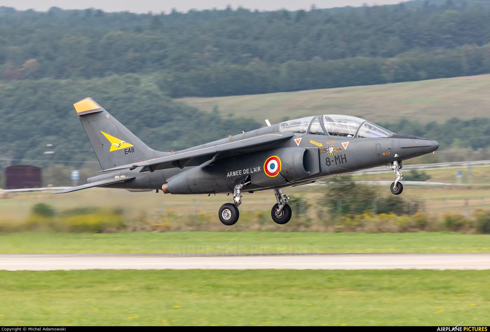 France - Air Force E48 aircraft at Sliač
