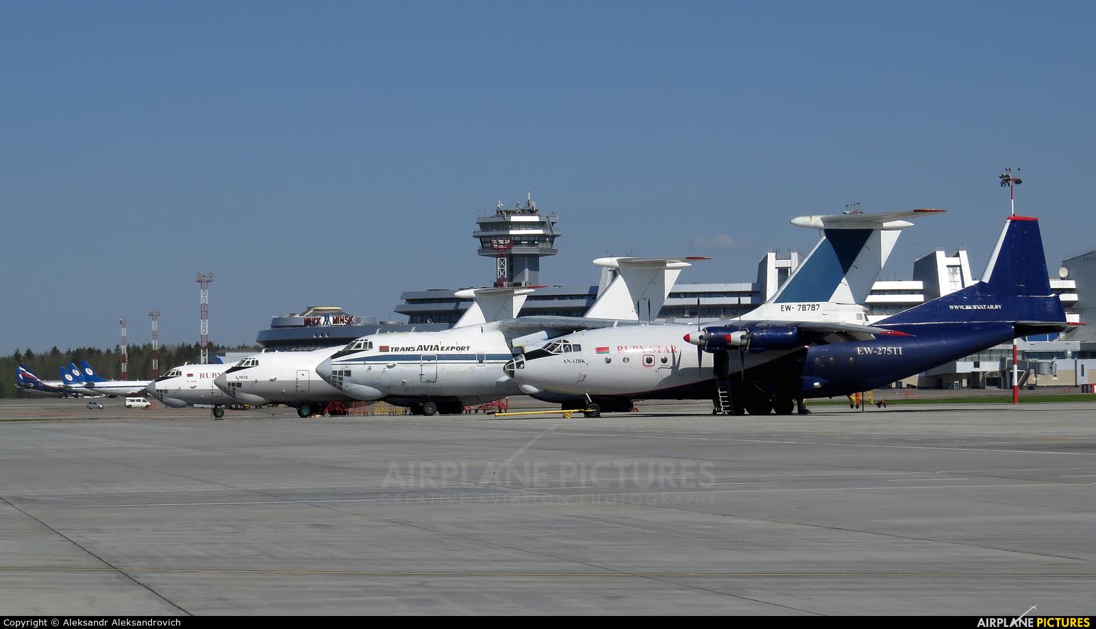Ruby Star Air Enterprise EW-275TI aircraft at Minsk Intl
