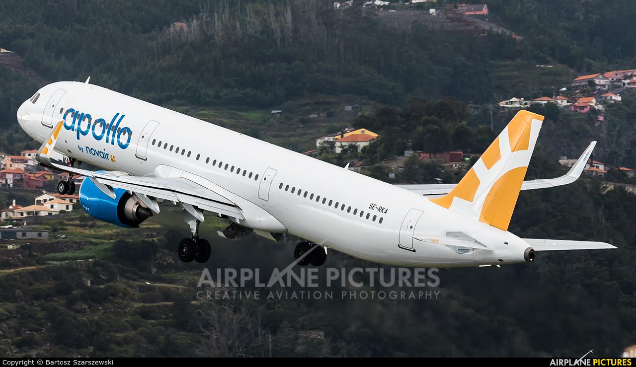 Novair SE-RKA aircraft at Madeira