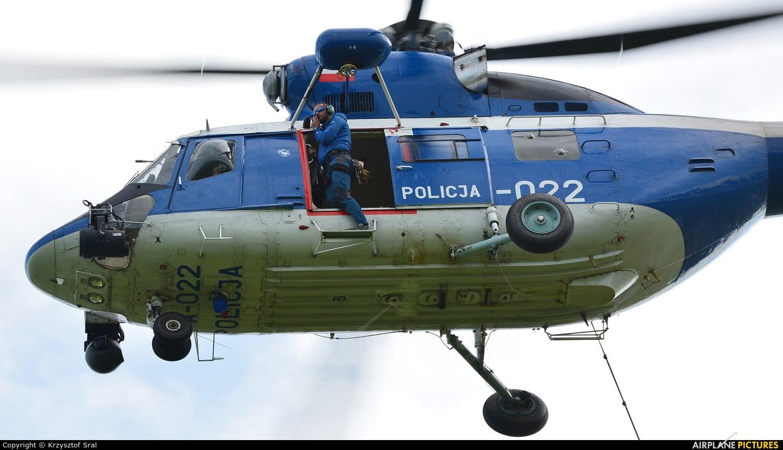 Poland - Police SN-31XP aircraft at Nowy Targ