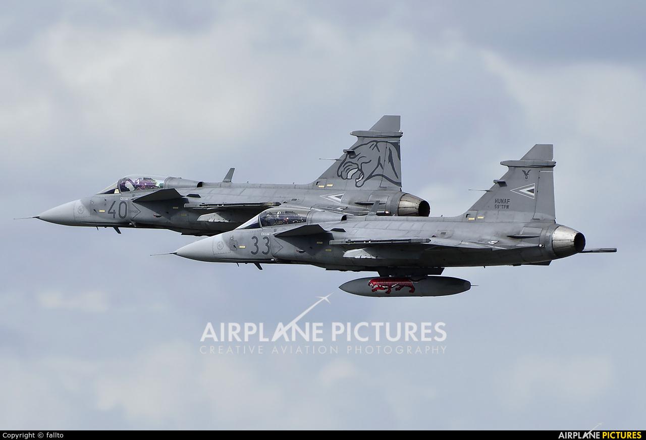 Hungary - Air Force 33 aircraft at Off Airport - Hungary