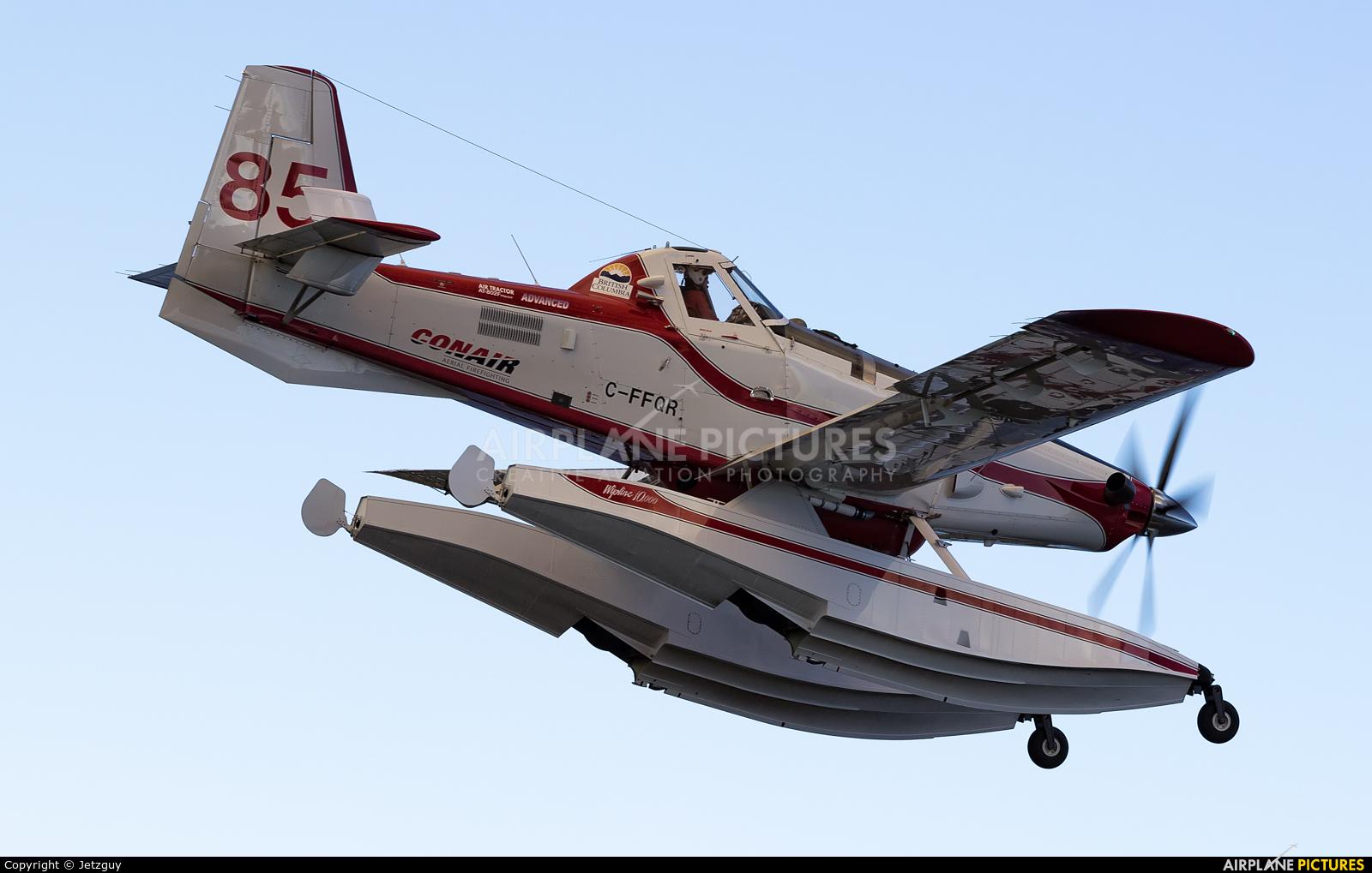 Conair C-FFQR aircraft at 100 Mile House - Watson Lake, BC