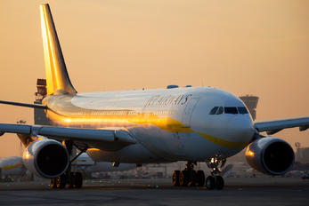 VT-JWW - Jet Airways Airbus A330-200