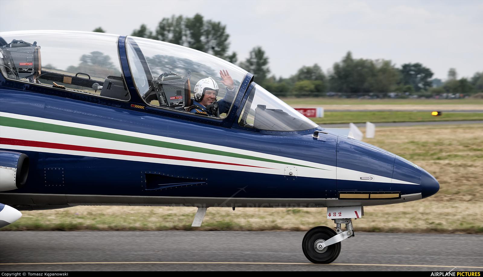 Italy - Air Force MB-339-A/PAN aircraft at Radom - Sadków