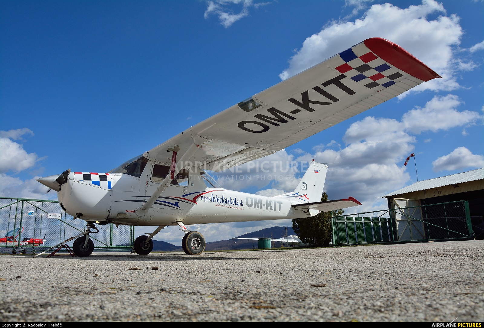- Airport Overview OM-KIT aircraft at Bidovce