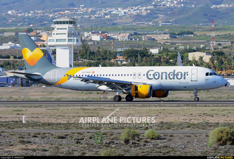 Thomas Cook Balearics EC-NAD aircraft at Tenerife Sur - Reina Sofia