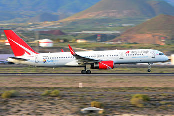 VQ-BTM - Royal Flight Boeing 757-200