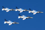 - - Japan - ASDF: Blue Impulse Kawasaki T-4 aircraft