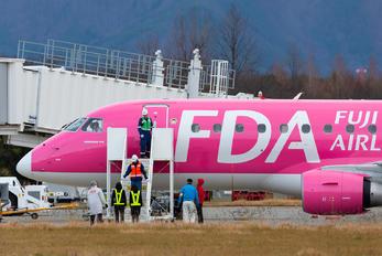 JA03FJ - Fuji Dream Airlines - Airport Overview - People, Pilot
