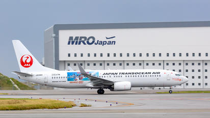 JA09RK - JAL - Japan Transocean Air Boeing 737-800